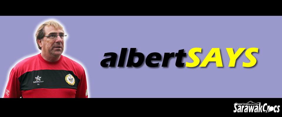 ALBERT SAYS
