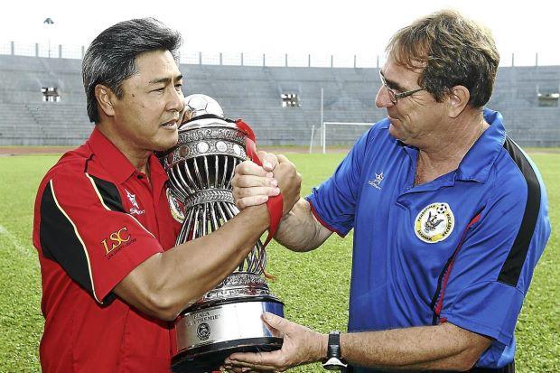 Robert Alberts, Sudarsono, Premier League, Liga Perdana - The Star