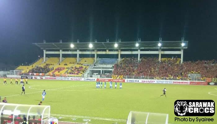 Sarawak vs Felda, Selayang, Felda United