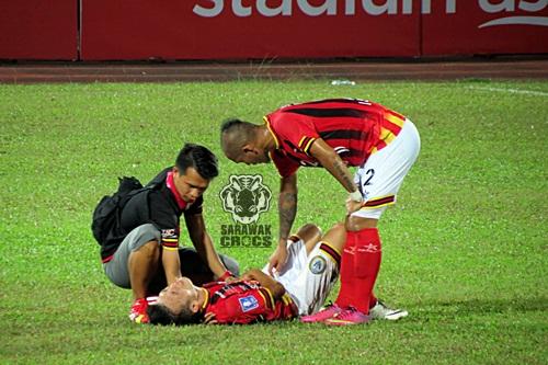 Sarawak vs Felda United, joseph, ronny