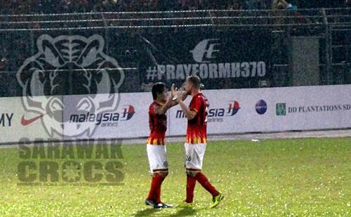 [MSL 2014] Sarawak vs Lions, Gabor, mafry, Pray for MH370
