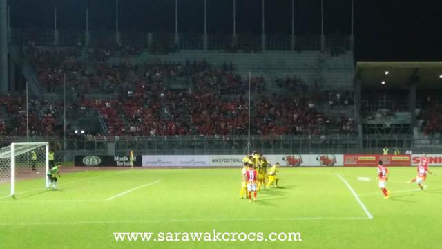 Sarawak, Perak, kick