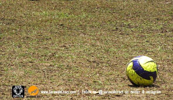 Ball, dirty field