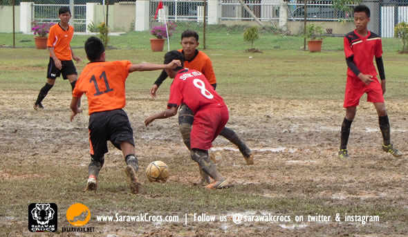 A typical school tournament. This was the 2014 football tournament in Kuching.