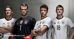 Germany EURO 2016 Home kit