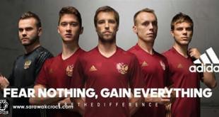 RUssia EURO 2016 Home kit