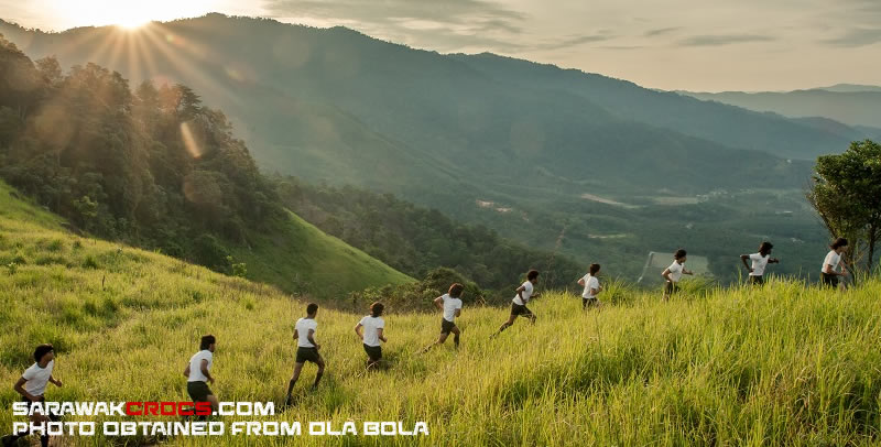 Hill run Ola Bola