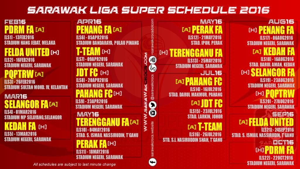 liga super schedule