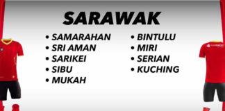 Sarawak LBR 2018 teams