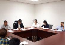 Fazzruddin meeting, Kuching FA