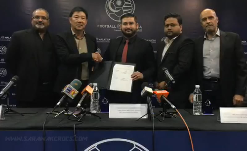Signing ceremony of sponsorship between FMLLP and AMPERSAND SPORTS