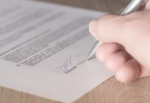 Contract, Signing