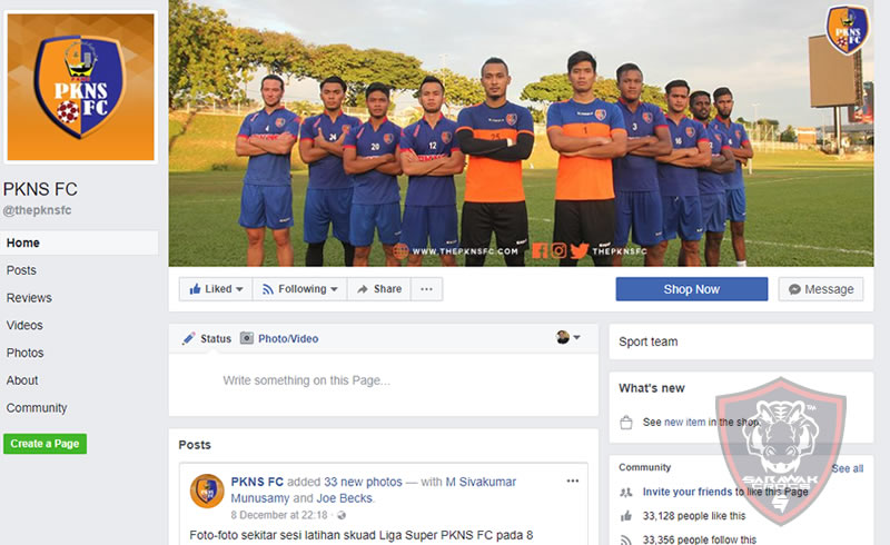 Rodney Celvin featured on PKNS FB page