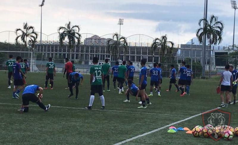 Sarawak FA 2018 training. Photo from Narayanan