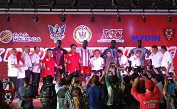 Pelancaran jersi Sarawak FA 2018