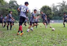 Sarawak FA 2018 training