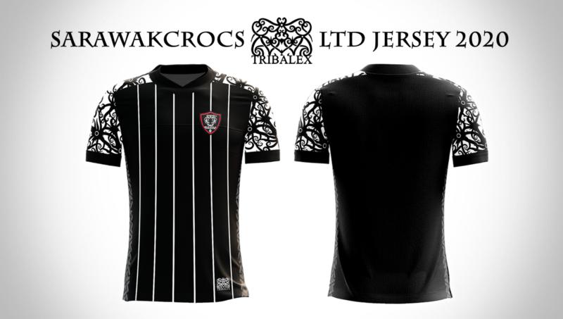 SarawakCrocs Tribal Jersey 2020