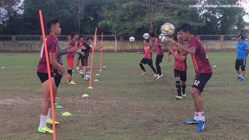 Gabriel berlatih bersama KV Miri